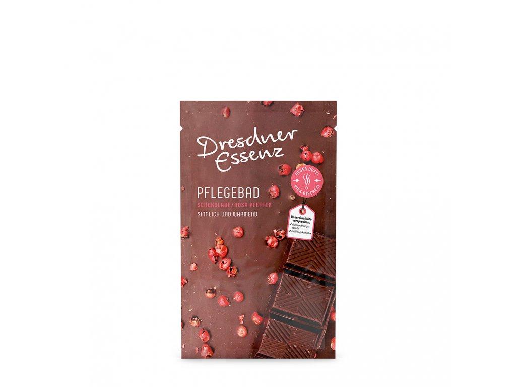 Aromatická koupel Čokoláda & růžový pepř