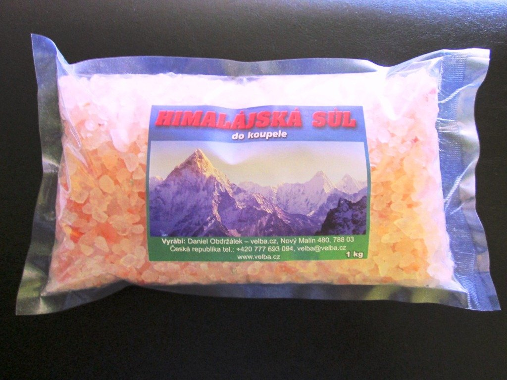 Himalájská koupelová sůl - 1 kg