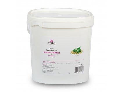 Velba koupelová sůl heřmánek & čaj 5 kg - MAXI hrubozrnná 1,6 - 6,3 mm