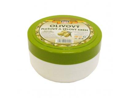 Olivový pleťový a tělový krém 200 ml