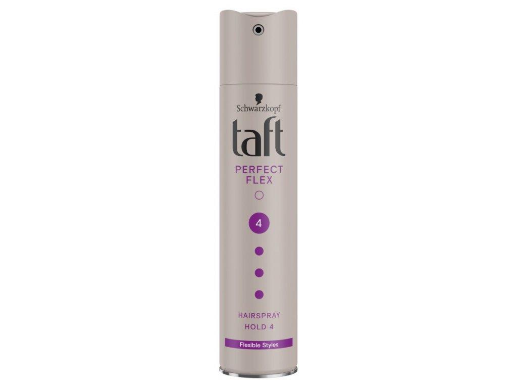 Taft Perfect Flex lak na vlasy ultra silně tužící, 250 ml