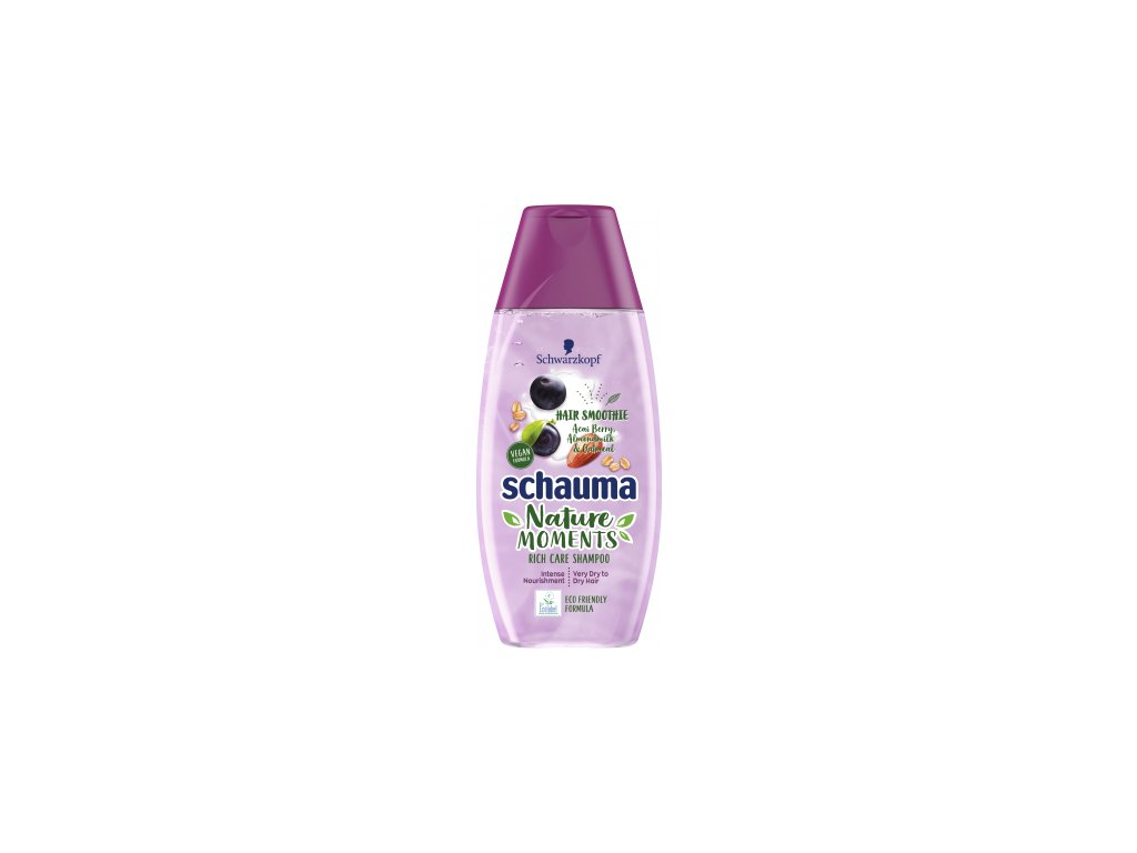 Schauma šampon Nature Moments acai a mandle, 250 ml