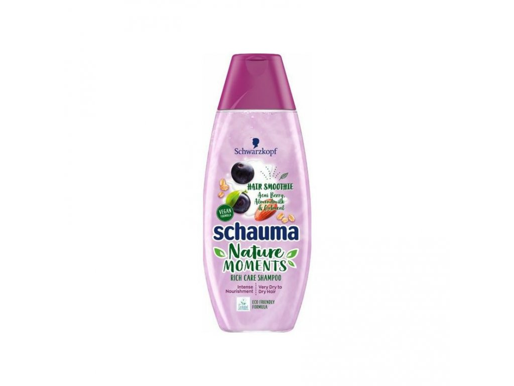 Schauma šampon Nature Moments acai a mandle, 400 ml