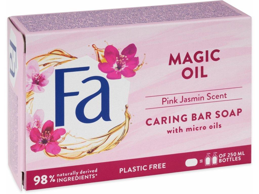 Fa tuhé mýdlo Magic Oil Pink Jasmin, 90g