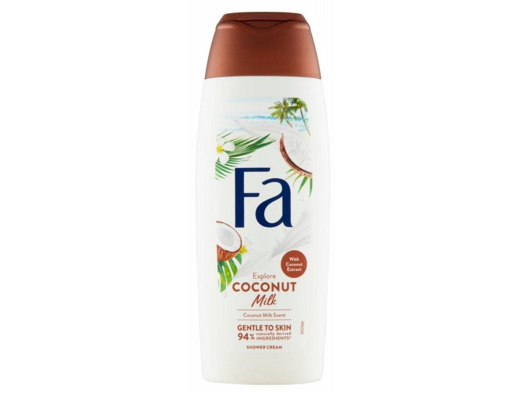 Sprchový gel Fa Coconut Milk, 250 ml