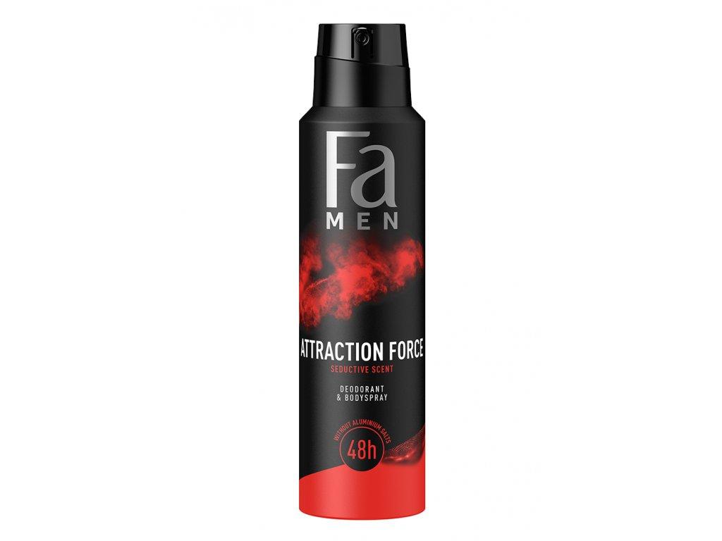 Fa deosprej Men Attraction Force, 150 ml