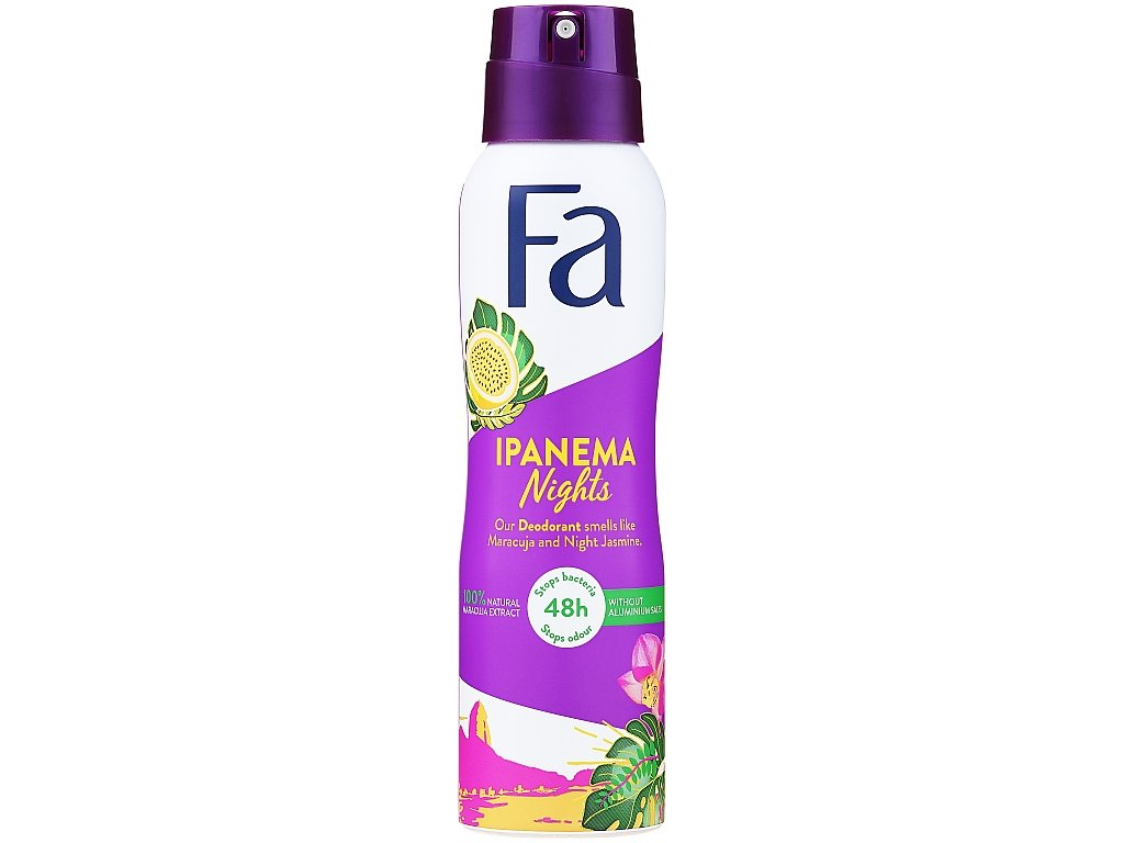 Fa deosprej Ipanema Nights, 150 ml