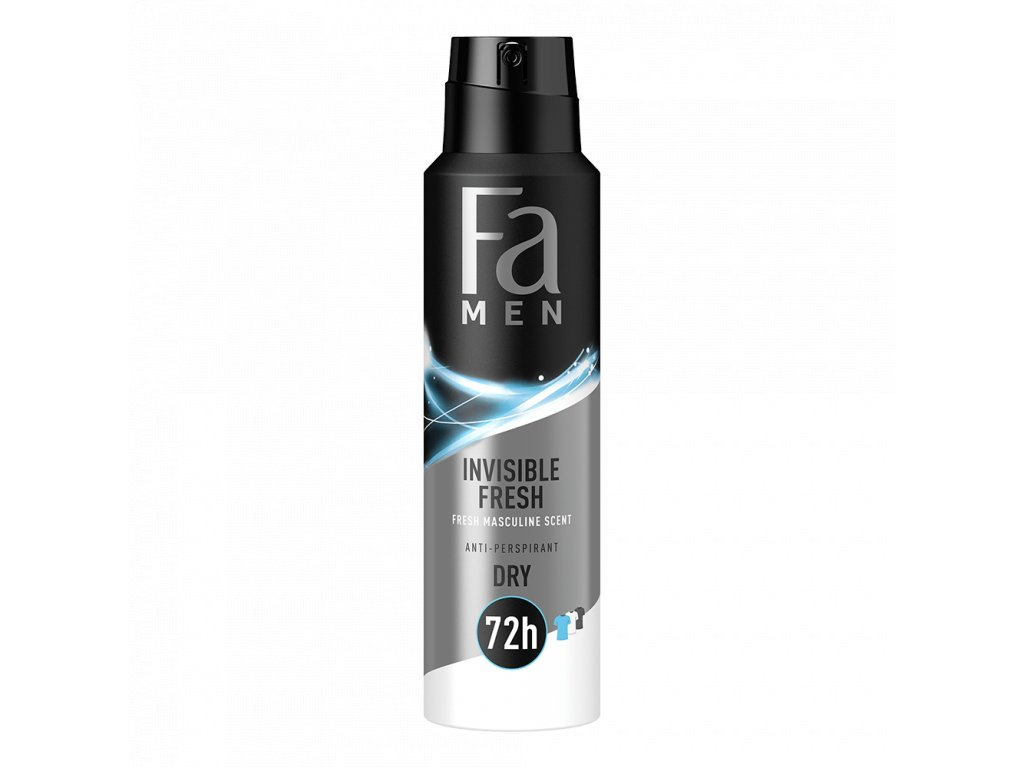 Fa deosprej Men Invisible Fresh, 150 ml