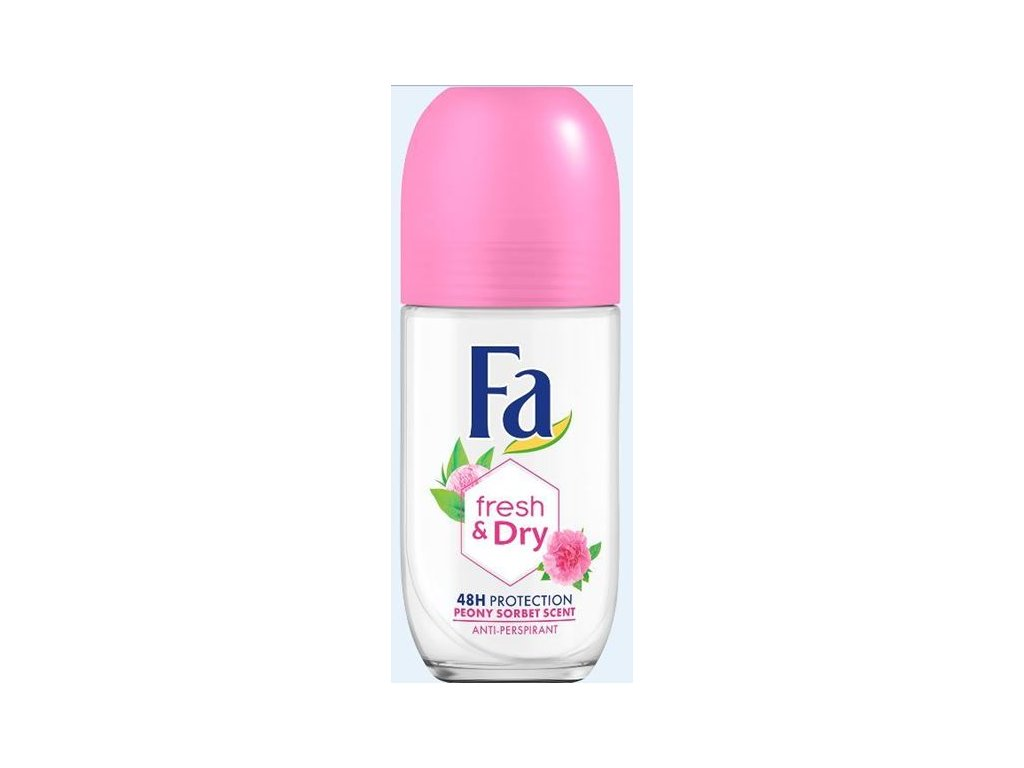 Fa roll-on Fresh & Dry Pink Sorfet, 50 ml