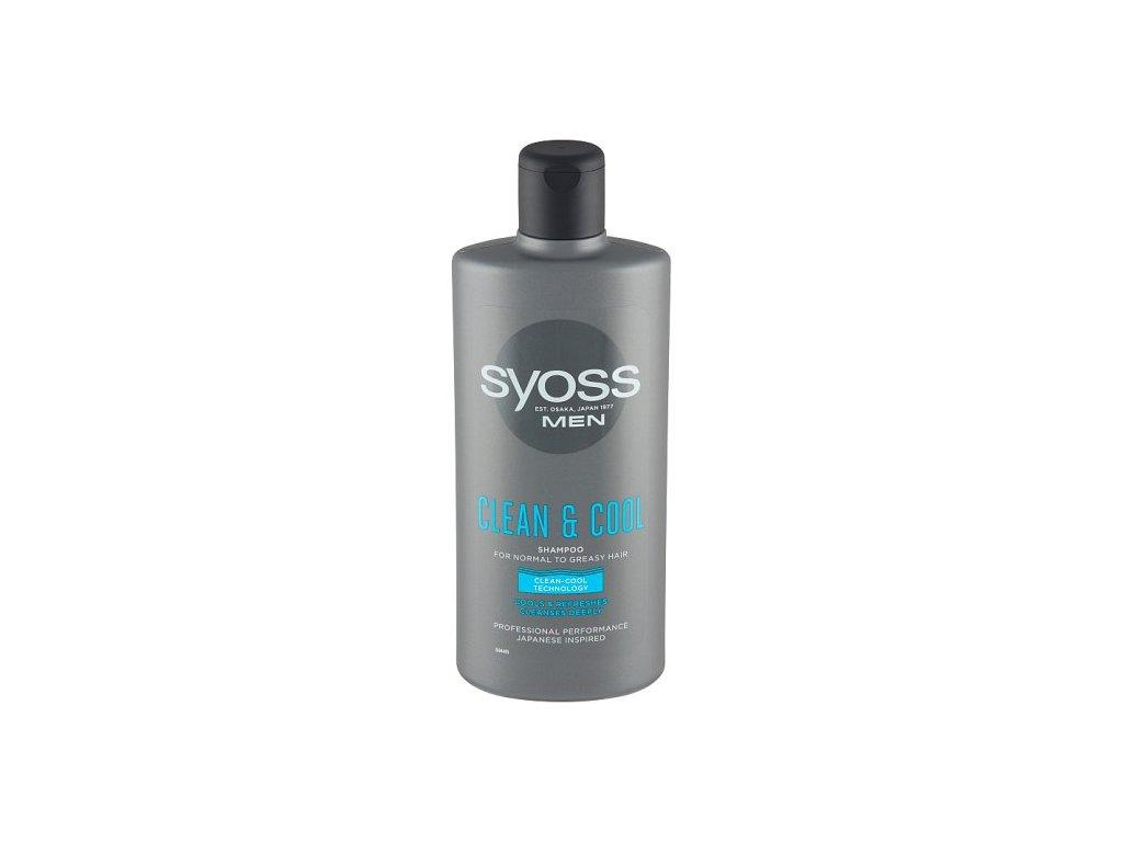 Syoss šampon Men Clean&Cool, 500 ml