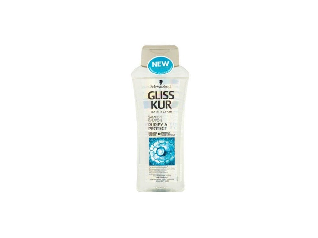 Gliss Kur šampon Purify & Protect, 400 ml