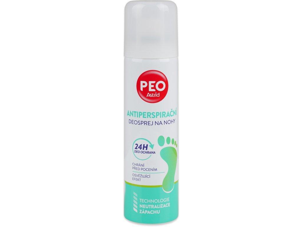 PEO antiperspirant deo sprej na nohy, 150 ml