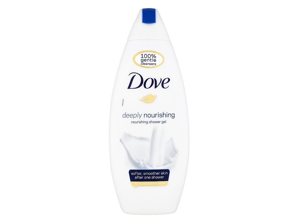 Dove sprchový gel Deeply Nourising, 250 ml