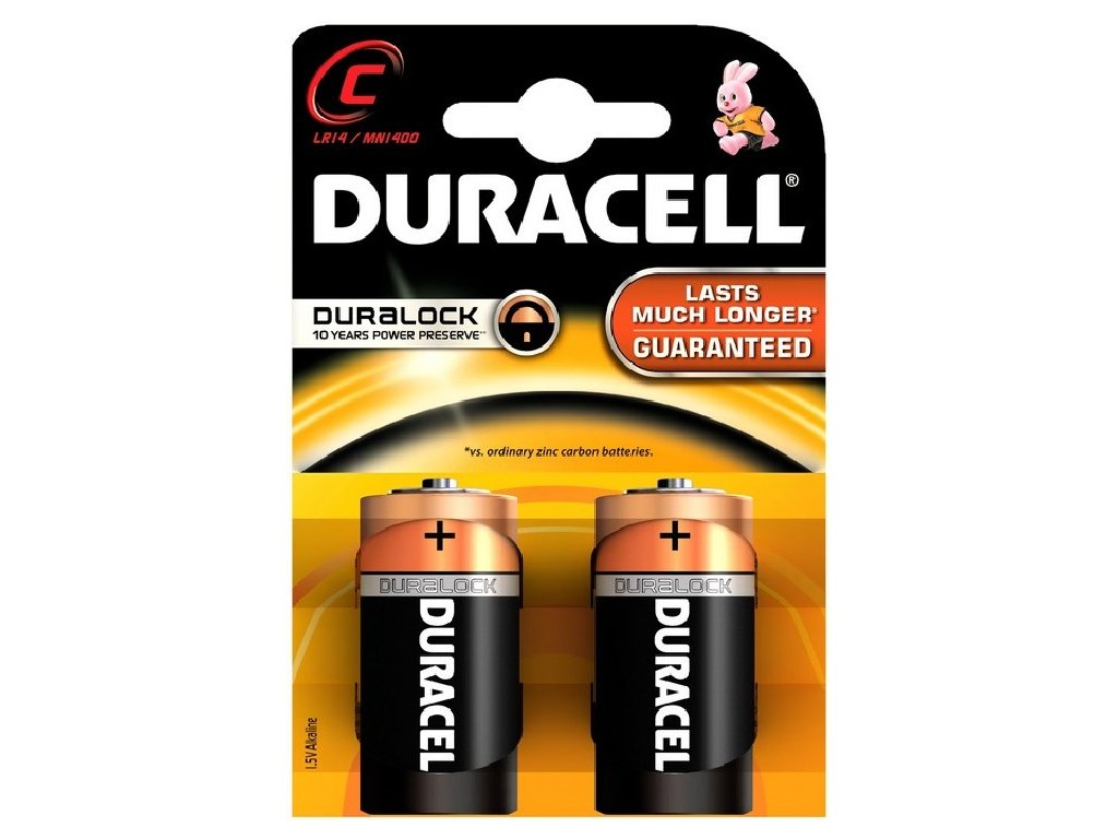 Duracell Basic C/2, 2ks