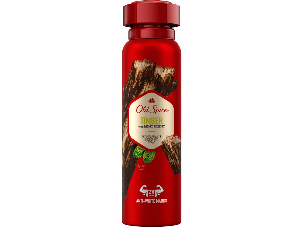 old spice timber deospray