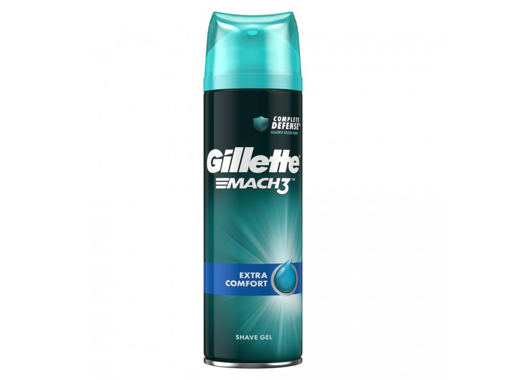 gillette mach3 extra comfort gel na holeni 200 ml