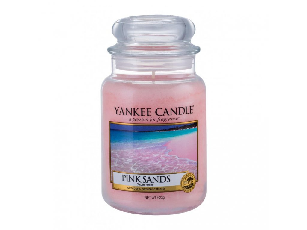 YANKEE CANDLE Classic Pink Sands, 623 g