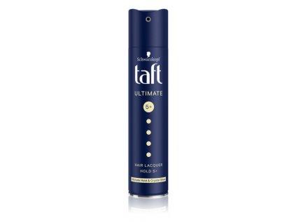 Taft Ultimate lak na vlasy pro maximální fixaci a křišťálový lesk, 250 ml