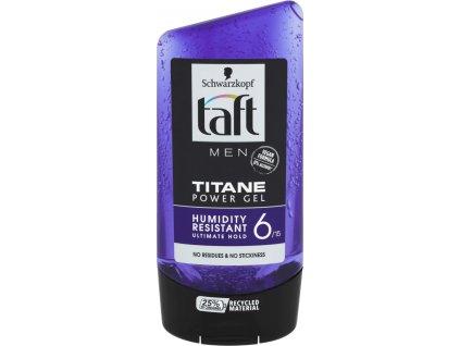taft men titane power gel