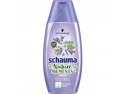 Schauma šampon Nature Moments bylinky a levandule, 250 ml