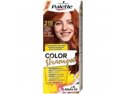 Palette Color Shampoo 218 zářivě jantarový, 50 ml