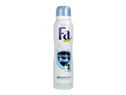 Fa deosprej Invisible Fresh, 150 ml