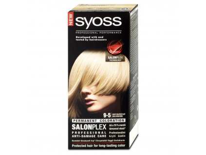 Syoss barva na vlasy 9-5 ledový perleťově plavý, 50 ml