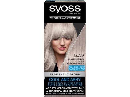 Syoss barva na vlasy 12-59 chladná platinová blond, 50 ml