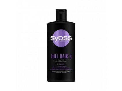 syoss full hair 5 sampon 500ml