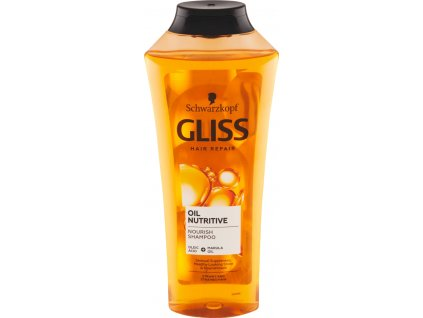 Gliss Kur šampon Oil Nutritive, 400 ml