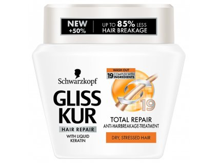 Gliss Kur maska Total Repair 19, 300 ml