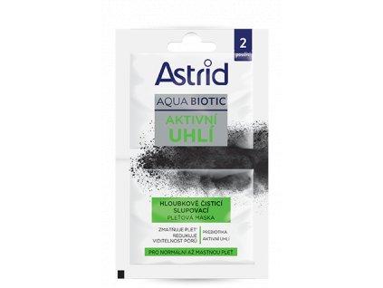 Astrid DETOX čisticí slupovací maska, 2x8 ml