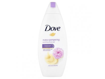 Dove sprchový gel Purely Pampering - Sweet Cream, 250 ml