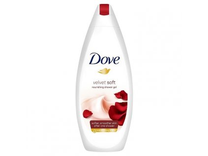 Dove sprchový gel Velvet Soft, 250 ml