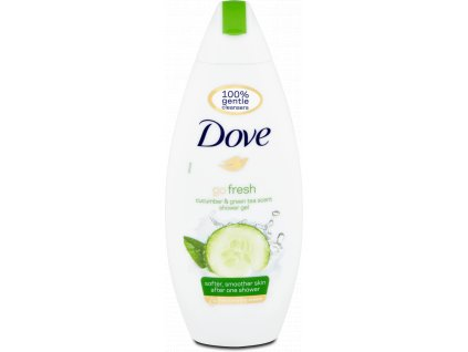 Dove sprchový gel Fresh Touch okurka a zelený čaj, 250 ml