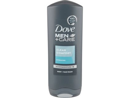 Dove MEN+CARE sprchový gel Clean Comfort, 250 ml