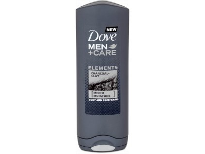 Dove MEN+CARE sprchový gel Charcoal & Clay, 250 ml