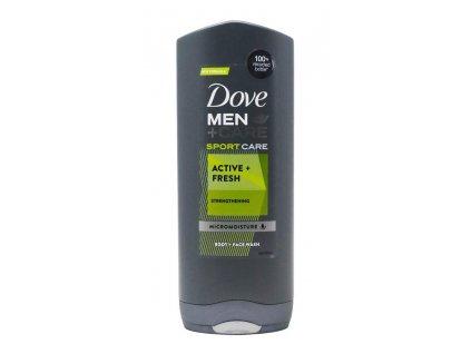 dove men care body and face wash 400ml dove men sport active fresh
