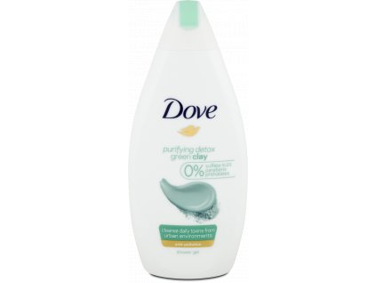 Dove sprchový gel Purifying Detox, 500 ml
