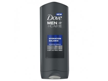 Dove MEN+CARE sprchový gel Hydratation Balance, 400 ml