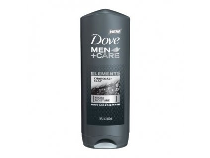 Dove MEN+CARE sprchový gel Charcoal & Clay, 400 ml
