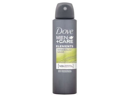 Dove Men+ Care Elements Minerals & Sage deospray, 150 ml