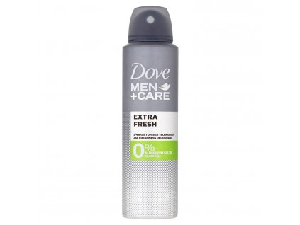 Dove Men+ Care Extra Fresh deospray bez hliníku, 150 ml