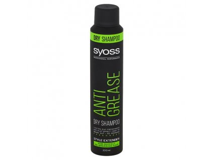 Syoss šampon suchý Anti Grease, 200ml