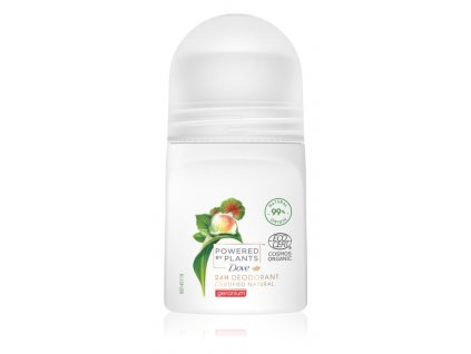 Dove Powered by Plants Geranium roll-on, 50 ml