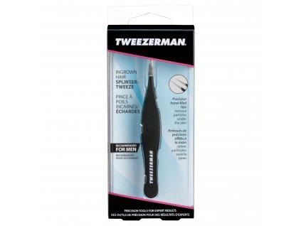 Pinzeta na chloupky Tweezerman G.E.A.R. Ingrown Hair/Splinter tweezer
