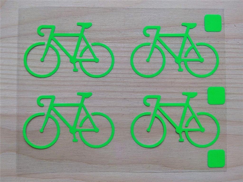 Neonove nazehlovaci obrazky kola zelena