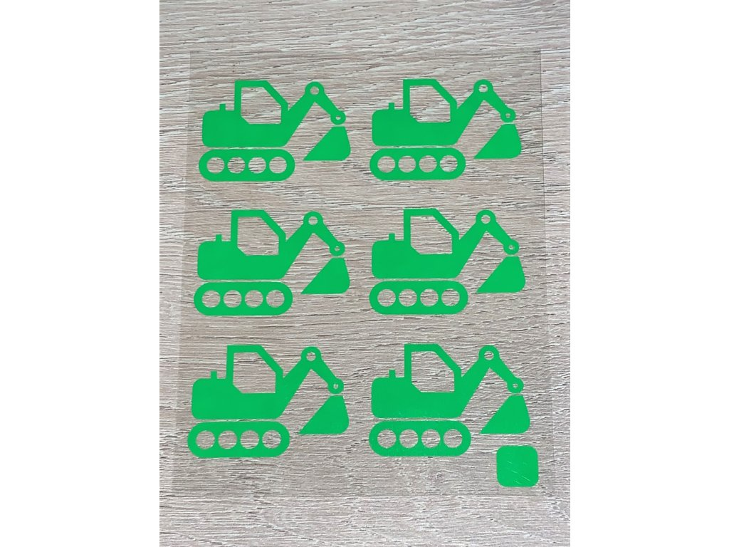 bagry neon zelena
