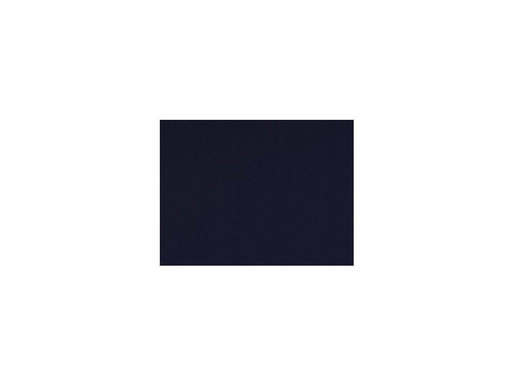 Bavlněný náplet s elastanem PAŘÍŽSKÁ MODŘ 5m