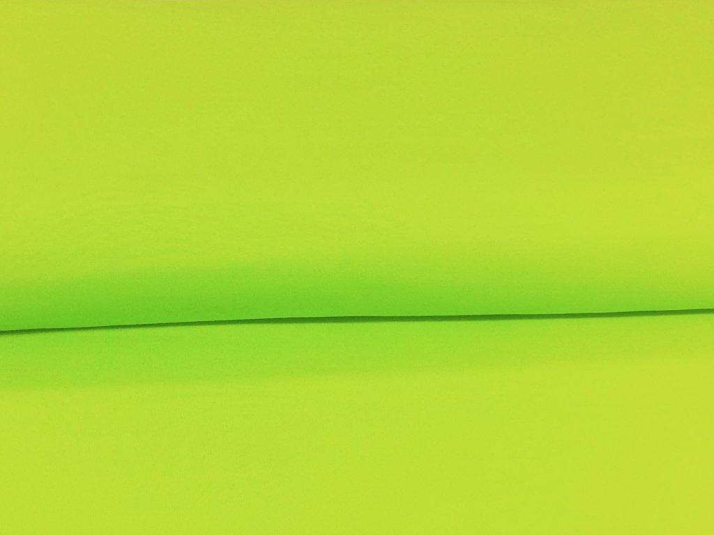 teplakovina neon zelena